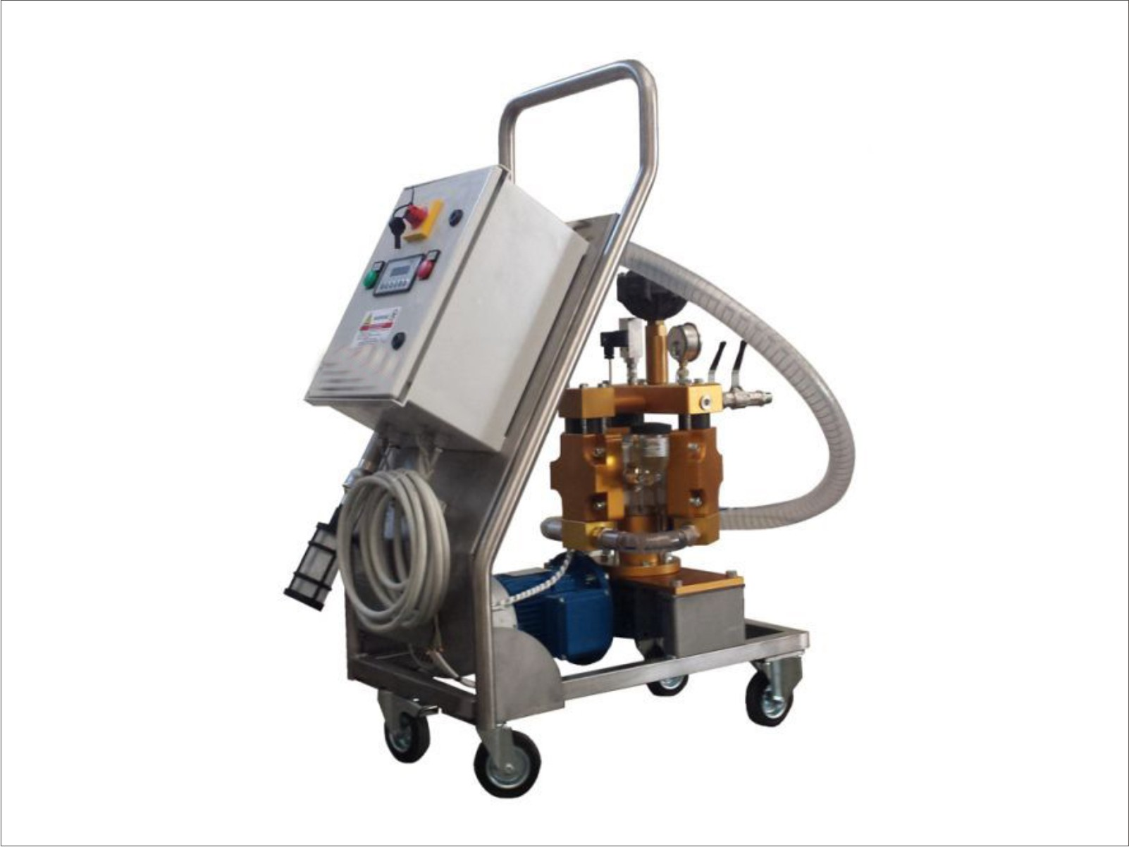 Automatic airless pump