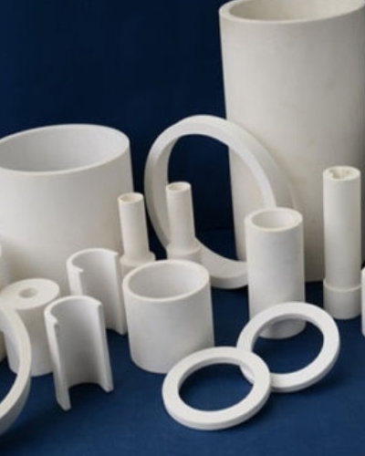 Wear Resistant 92 Alumina Ceramic Pipe