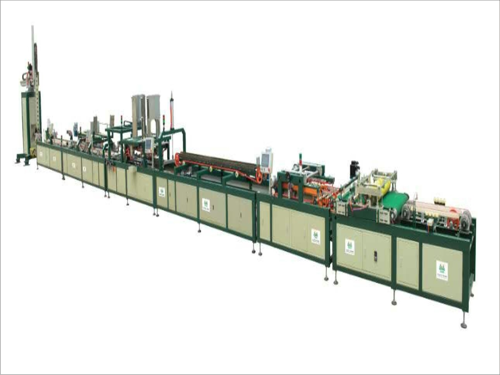 Auto Packing Line For Ceramic Tiles