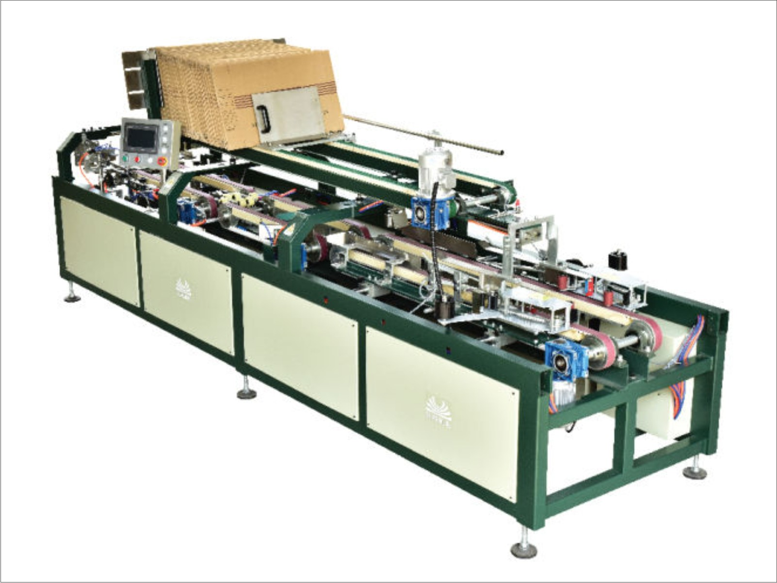 Box Packing Machine for Ceramic tiles