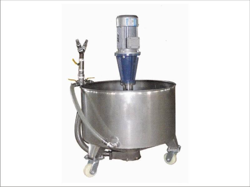 Ceramic Glaze Tank With Pump