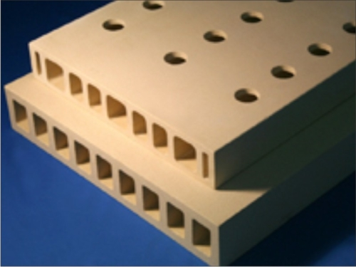 Perforated Extruded batts