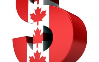 canada dollar sign international
